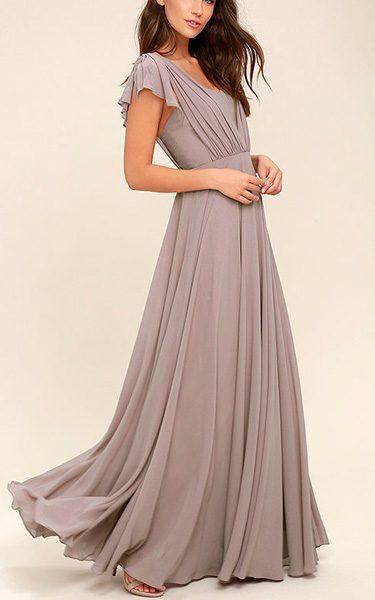 c1fa8b2deaa50 Falling For You Taupe Maxi Dress - Best Maxi Dress